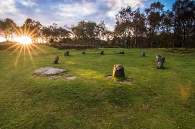 photography spots in Derbyshire - Nine Ladies Stone Circle