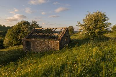 photography locations in Derbyshire - Winster Barn