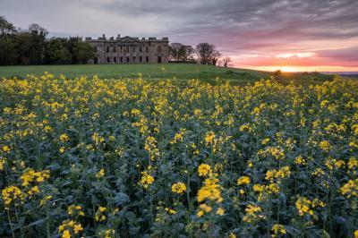 photo spots in Derbyshire - Sutton Scarsdale Hall