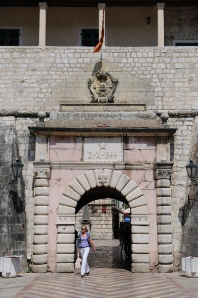 Montenegro images - Kotor Sea Gate