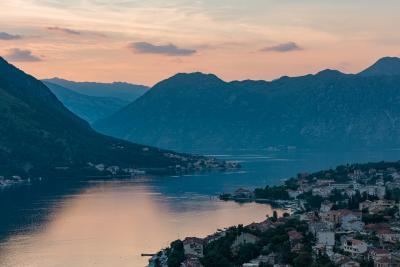 photos of Montenegro - Bay of Kotor Road Bend View
