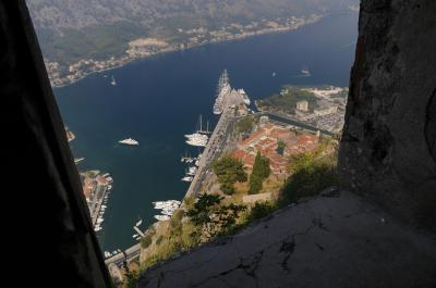 pictures of Coastal Montenegro - Kotor San Giovanni Fort