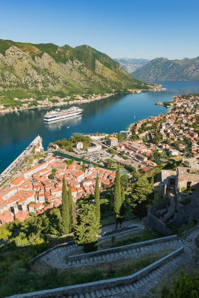 images of Coastal Montenegro - Kotor San Giovanni Fort