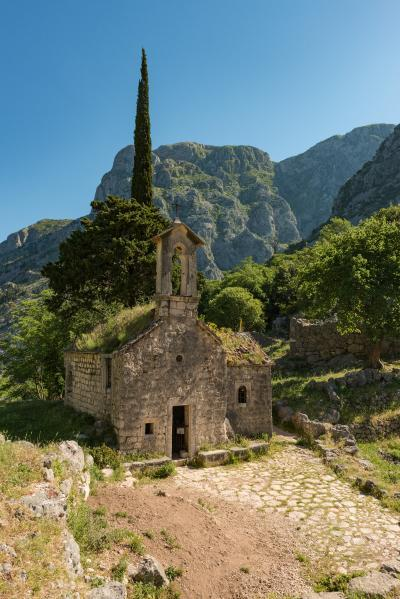 photography spots in Montenegro - Kotor Sveti Jovan Church