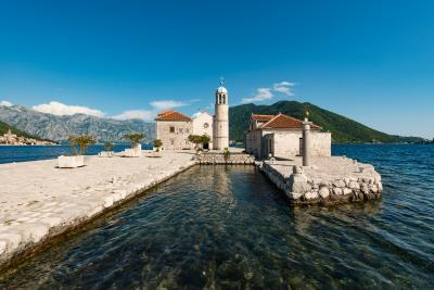 pictures of Coastal Montenegro - Lady of the Rocks Island