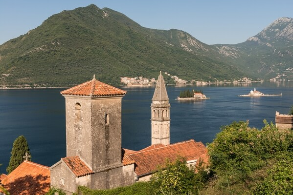 Perast Elevated View