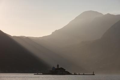 photography spots in Montenegro - Perast Island View