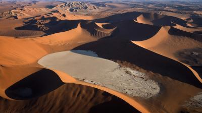 images of Sossusvlei - Aerial Photography