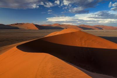 images of Sossusvlei - Atop Dune 45