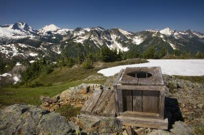 North Cascades photo locations - Copper Mountain Lookout