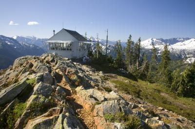 photos of North Cascades - Copper Mountain Lookout