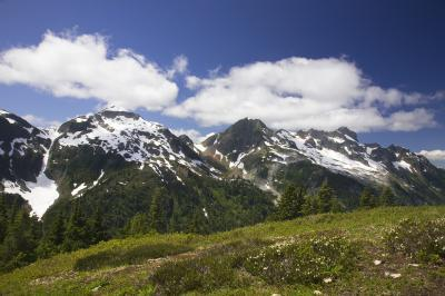 North Cascades photo spots - Hannegan Peak