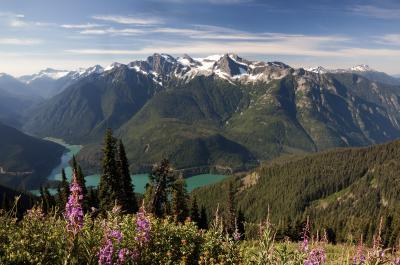 North Cascades photo guide - Sourdough Mountain Lookout