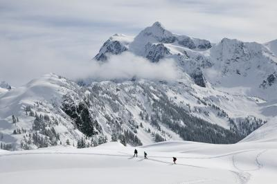 images of North Cascades - Artist Point and Kulshan Ridge