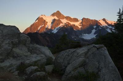 pictures of North Cascades - Artist Point and Kulshan Ridge