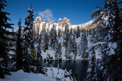 Blue Lake/Early Winters Spires