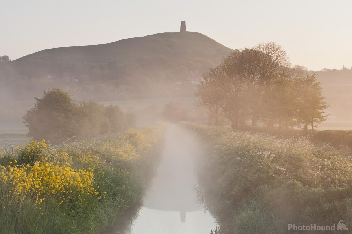 Glastonbury Tor from the canals