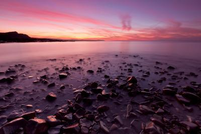 Somerset photography locations - Kilve Beach