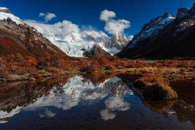 Patagonia photography spots - EC - Cerro Torre Reflection