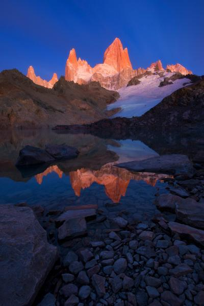 Patagonia photography locations - EC - Lago de los Tres