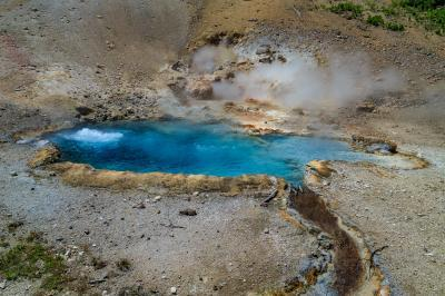 pictures of Yellowstone National Park - Beryl Springs