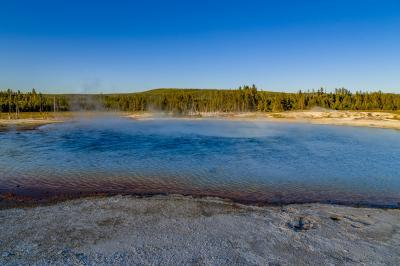 pictures of Yellowstone National Park - Sunset Lake – Black Sand Basin