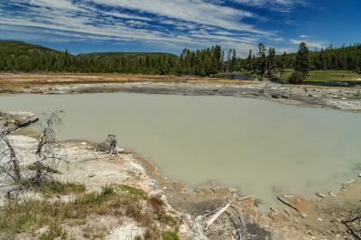 photos of Yellowstone National Park - Wall Pool – Biscuit Basin