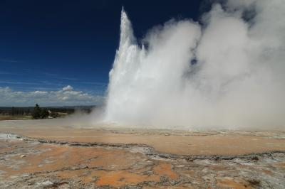 pictures of Yellowstone National Park - FLD - Great Fountain Geyser