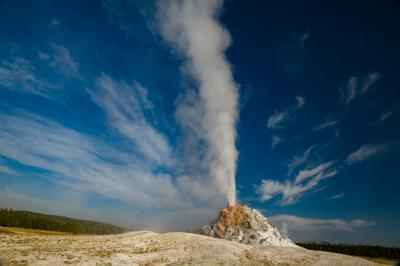 photos of Yellowstone National Park - FLD - White Dome Geyser