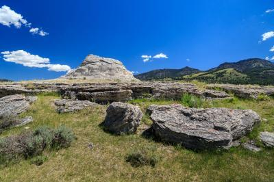 images of Yellowstone National Park - Soda Butte – Lamar Valley