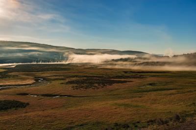 photos of Yellowstone National Park - Yellowstone River, Hayden Valley
