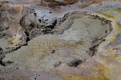 pictures of Yellowstone National Park - MVA - Sulphur Caldron