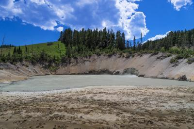 photos of Yellowstone National Park - MVA - Mud Caldron