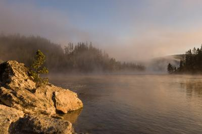 images of Yellowstone National Park - MVA - Yellowstone River