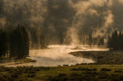 photos of Yellowstone National Park - MVA - Yellowstone River