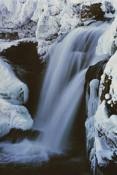 Moose Falls, winter