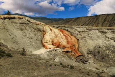 photos of Yellowstone National Park - MHS - Cupid Spring