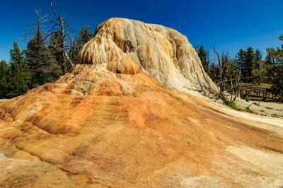 pictures of Yellowstone National Park - MHS - Orange Spring Mound