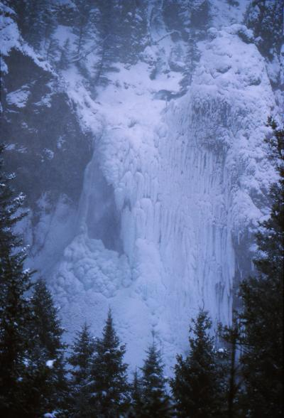 pictures of Yellowstone National Park - Tower Fall
