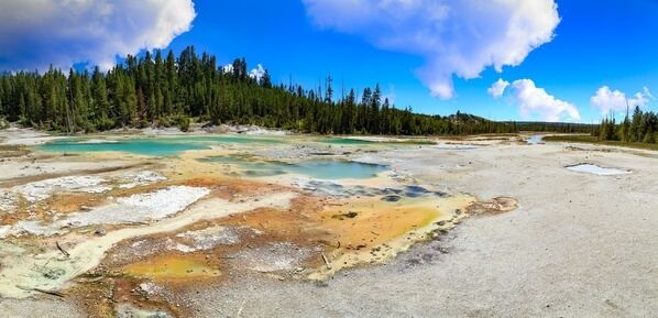 Crackling Lake panorama