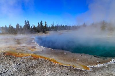 photos of Yellowstone National Park - WTGB - Black Pool