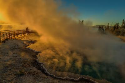 pictures of Yellowstone National Park - West Thumb Geyser Basin (WTGB) Gen