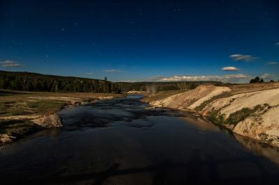 pictures of Yellowstone National Park - UGB - Firehole River