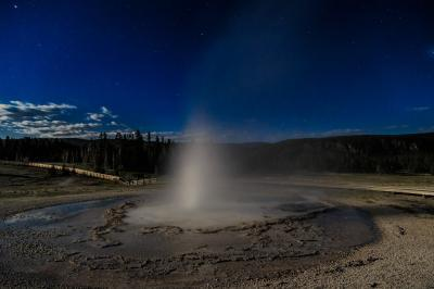 photos of Yellowstone National Park - UGB - Sawmill Geyser