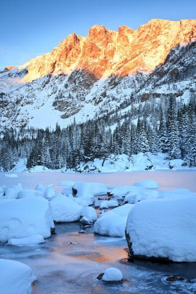 Rocky Mountain NP photo guide - BL - Dream Lake