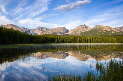 images of Rocky Mountain NP - BL - Lake Bierstadt