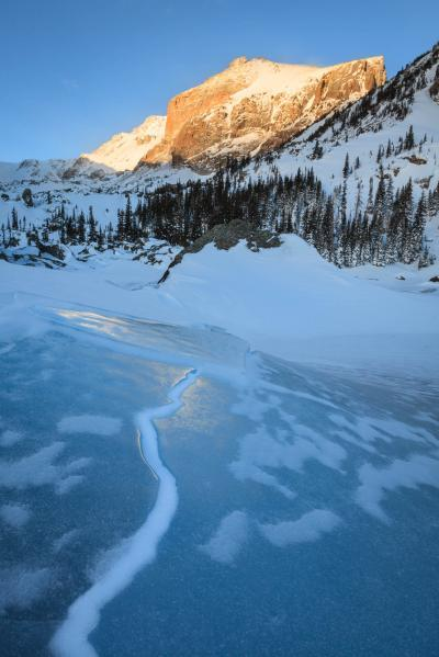 Rocky Mountain NP photography guide - BL - Lake Haiyaha