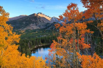 Rocky Mountain National Park photo locations - BL - Bear Lake Overlook
