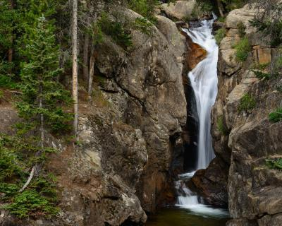 photos of Rocky Mountain NP - FL - Chasm Falls