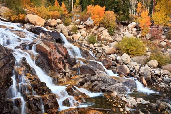 Alluvial Fan - Autumn